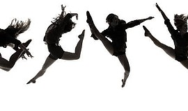 Promotional graphic of dancers.