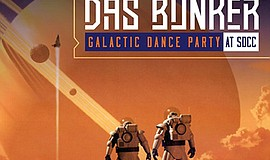 Promotional poster for the Galactic Dance Party. Courtesy of Das Bunker.