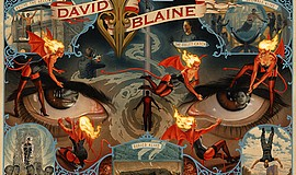 A promotional poster for magician David Blaine.