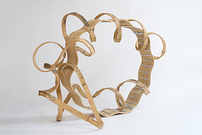 A photo of Richard Deacon, Dancing in Front of My Eyes, 2...