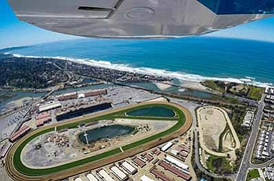 Promotional photo for Daybreak at Del Mar. Courtesy of San Diego Sky Tours.
