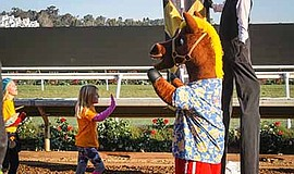 Promotional photo for Family Weekend. Courtesy of Del Mar Racing.