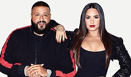 Promo graphic for Demi Lovato & DJ Khaled North America...