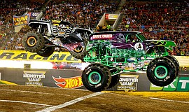 Promotional photo of a monster truck.