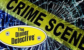 Promo graphic for The Dinner Detective Interactive Murd...