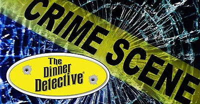 Promotional graphic courtesy of The Dinner Detective.