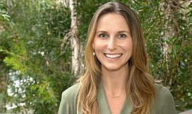 Promotional photo of Dr. Heather Sandison.