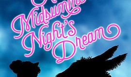 "A promotional poster for Junior Theatre's ""A Midsummer Night's Dream."""
