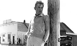 "A photo from the film ""East of Eden."""