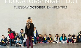 Promotional graphic for Educators' Night Out. Courtesy of the New Children's ...