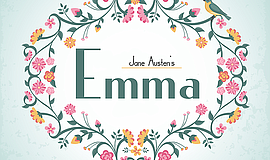 "A promotional poster for ""Emma."""