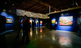 View of the Erin Hanson Gallery.