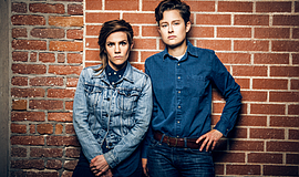 A promotional photo of Carmen Esposito (left) and Rhea Butcher, courtesy of R...