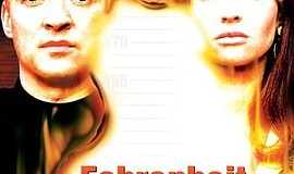 "Promotional graphic for the film, ""Fahrenheit 451."""