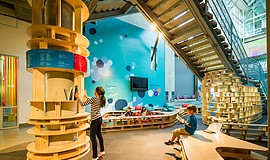 Promotional photo courtesy of the New Children's Museum.