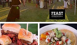 Promotional photo montage for the Third Annual FEAST