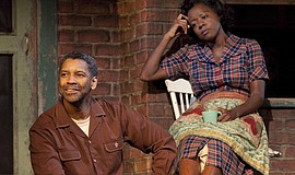 "Denzel Washington and Viola Davis in ""Fences"" (2016)."
