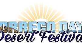 Promotional graphic for the Borrego Days Desert Festival.