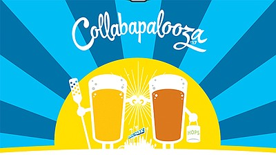 Promotional flyer for Collabapalooza. Courtesy of Karl Strauss Brewing.