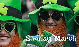 Promotional photo of participants at the North County St. Patrick's Day Festi...