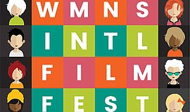 A promotional poster for the Women's Film Festival San Diego.