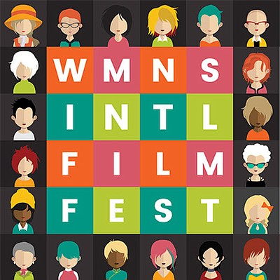 A promotional poster for the Women's Film Festival San Di...