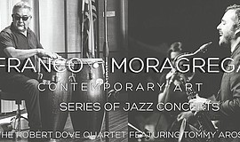 Promotional flyer for jazz concert. Courtesy of Franco•Moragrega.
