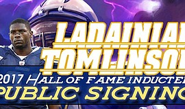 Promotional photo courtesy of Ladainian Tomlinson.