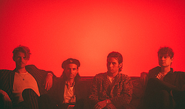 A promotional photo of the band Foster the People.