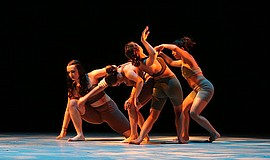 A photo of the dance Fragile, courtesy of Mojalet Dance Collective.