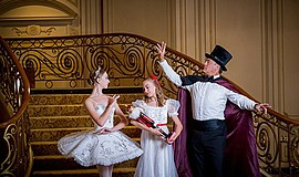 "A photo of ""The Nutcracker,"" courtesy of Pacific Arts Dance Center."