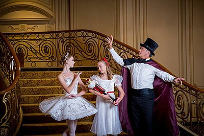 "A photo of ""The Nutcracker,"" courtesy of Pacific Arts Dan..."