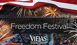 Promotional photo for the Freedom Fest. Courtesy of Viejas Casino & Resort.
