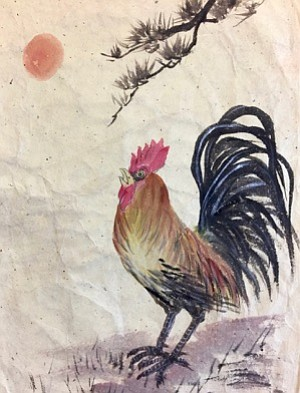 Year of the Rooster by Takashi Ijichi.
