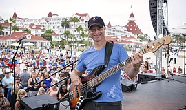 Promotional photo of Gary Sinise of the Gary Sinise & the Lt. Dan Band.
