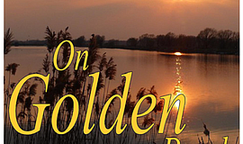"A promotional poster for ""On Golden Pond."""