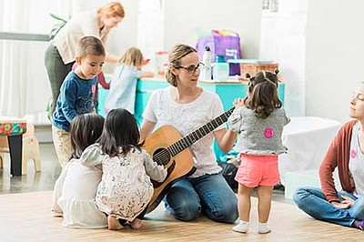 Promotional photo of  previous event at The New Children's Museum. Courtesy of The New Children's Museum.