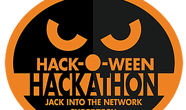 Promotional graphic for the San Diego Halloween Hackathon. Courtesy of the AT...