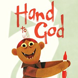 "A promotional graphic for ""Hand to God,"" courtesy of San ..."