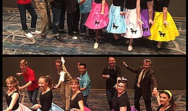 Photo of the Hang Ten Hoppers. Courtesy of Swing Dancing San Diego.