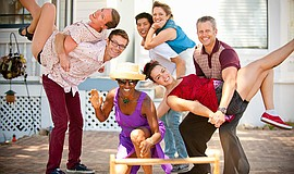Promotional photo of the Hang 10 Hoppers. Courtesy of Swing Dancing San Diego.