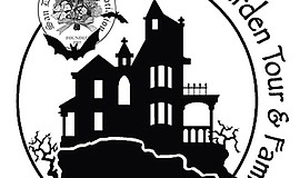 Promotional graphic for the Haunted Garden Tour and Family Fair. Courtesy of ...