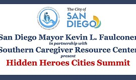 Promotional graphic for the Hidden Heroes Cities Summit.