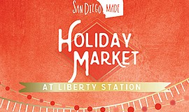 Promotional photo for the Holiday Market. Courtesy of San Diego Made.