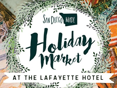 Promotional graphic for the Holiday Market. Courtesy of S...