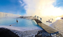 Promotional photo for the Hot Springs & Icebergs: Iceland...