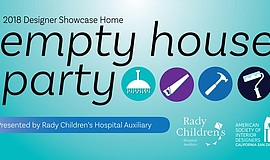 Promo graphic for Empty House Party For ASID Designer S...