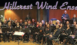 Promotional photo of the Hillcrest Wind Ensemble