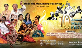 Promotional photo courtesy of Indian Fine Arts Academy.