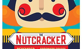 "A promotional poster for ""The Nutcracker,"" courtesy of Inspire School of Ballet."